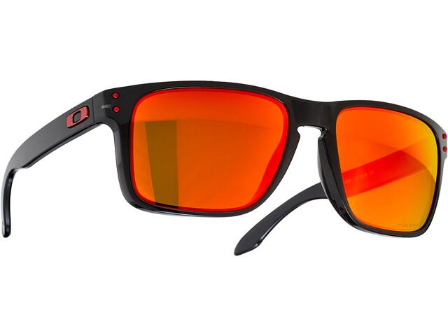 Oakley Holbrook XL Sunglasses black ink/prizm ruby polarized